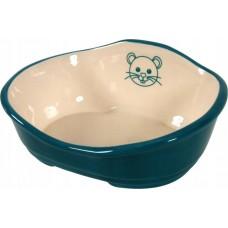 Zolux legowisko miska m ceramiczna niebieska 206689