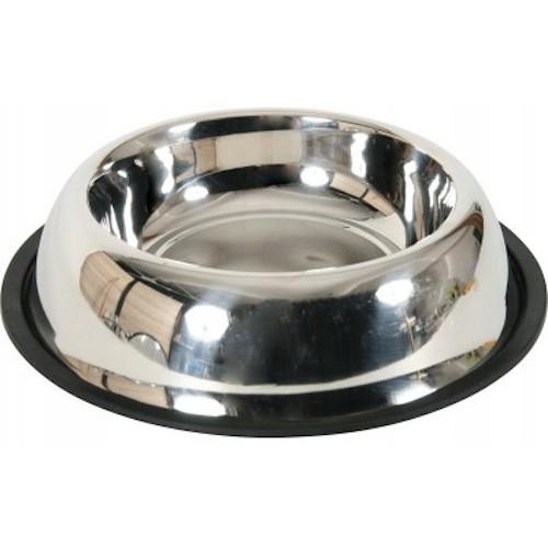 Zolux miska stalowa na gumie 0,3l  15,5 cm 475 475