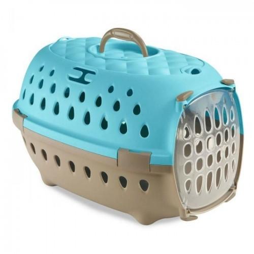 Transporter smart chic błękitny dla królika, chomika, swinki