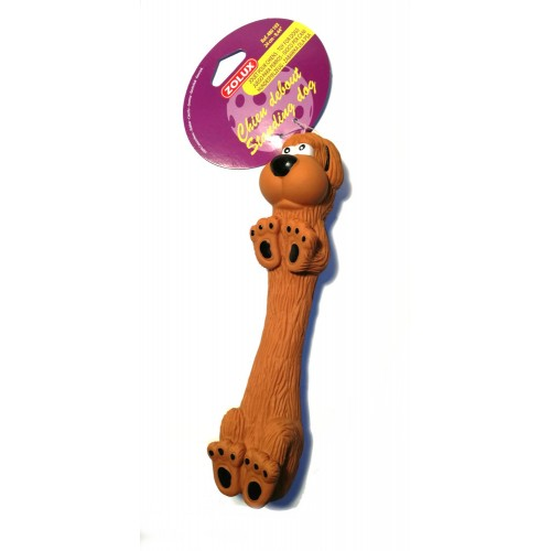 Zolux zabawka z dżwiękiem pies 24 cm 480 193