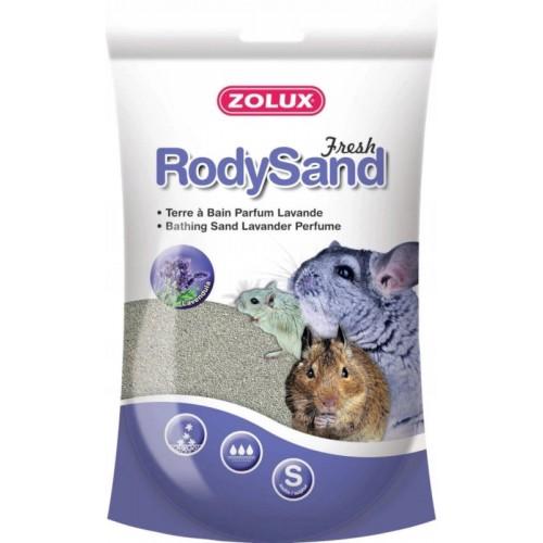 Zolux piasek rody sand pył kąpielowy lawenda 212036