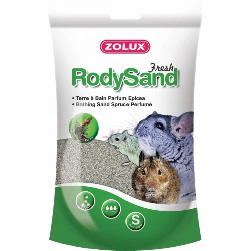 Zolux piasek rody sand pył kąpielowy sosnowy212038