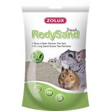 Zolux piasek rody sand pył kąpielowy ziel.herbata