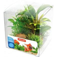 Zolux dekoracja roślinna pudełko mix 6 szt zestaw 2