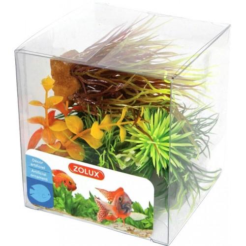 Zolux dekoracja roślinna pudełko mix 6 szt zestaw 3