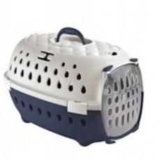 Transporter dla psa lub królika, świnki morskiej smart granatowo/biały
